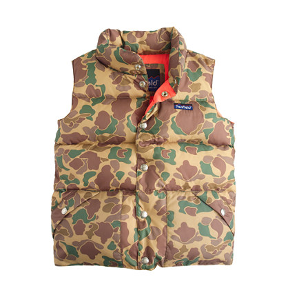 Boys' Penfield® Outback vest in camo