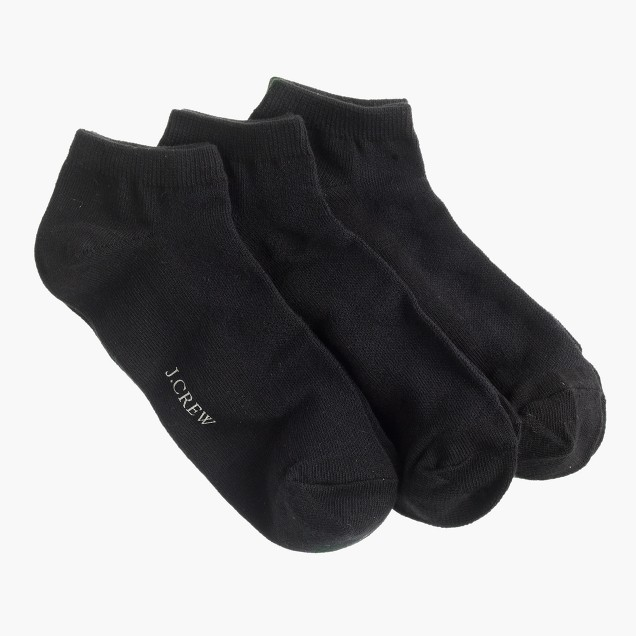 Ankle socks three-pack