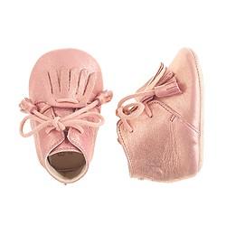 Baby Easy Peasy® leather tassel booties