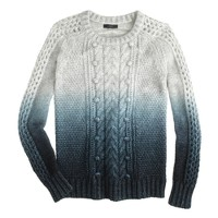 Collection dip-dye sweater