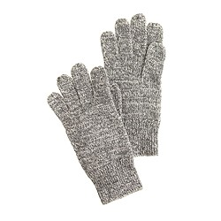 Kids' marled gloves