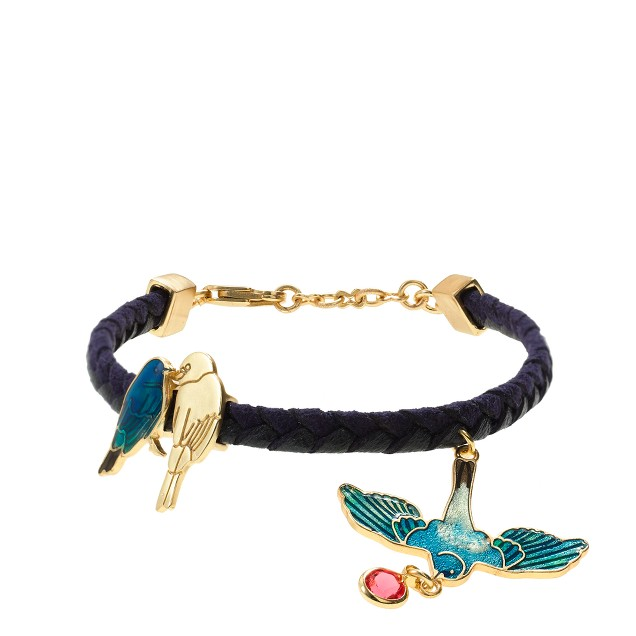 Marc Alary™ for J.Crew kissing birds bracelet
