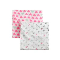 Baby aden + anais® for J.Crew swaddle blankets two-pack