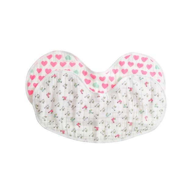 Baby aden + anais® for J.Crew Burpy Bib two-pack