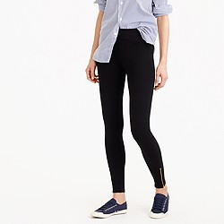 Ankle-zip leggings