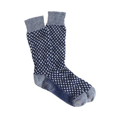 Fleur-de-lis socks