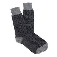 Diamond cross socks