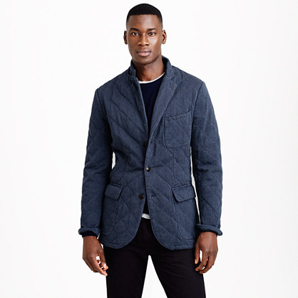 Ludlow fielding sportcoat in quilted cotton