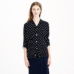 PLAY Comme des Gar�ons® merino wool cardigan sweater in polka dot