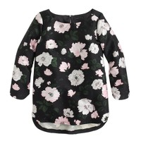 Collection midnight floral top