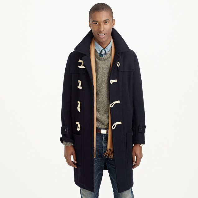 Wool toggle coat : | J.Crew