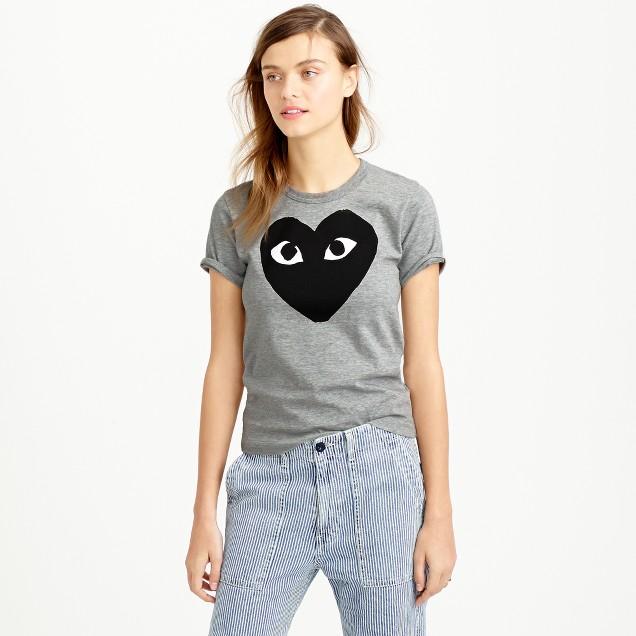 PLAY Comme des Garçons® black heart T-shirt