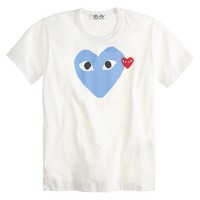 PLAY Comme des Garçons® double heart T-shirt