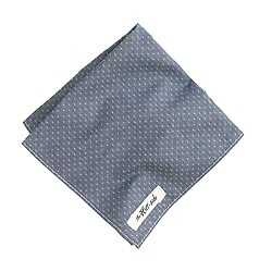 The Hill-side® cotton pocket square