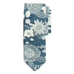 The Hill-side® cotton tie in Xerox floral