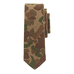 The Hill-side® wool tie in camouflage