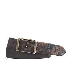 Wallace & Barnes leather belt