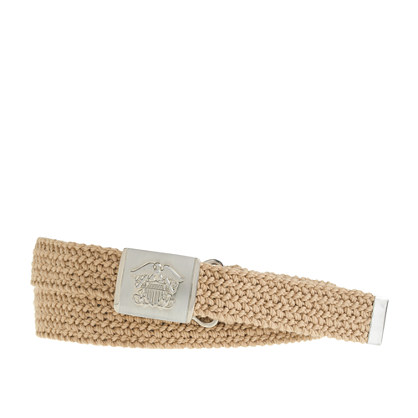 Nautical macrame belt