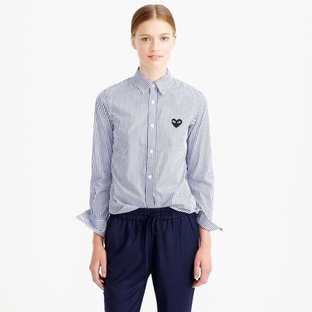PLAY Comme des Garçons® stripe blouse