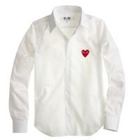 PLAY Comme des Garçons® red heart blouse