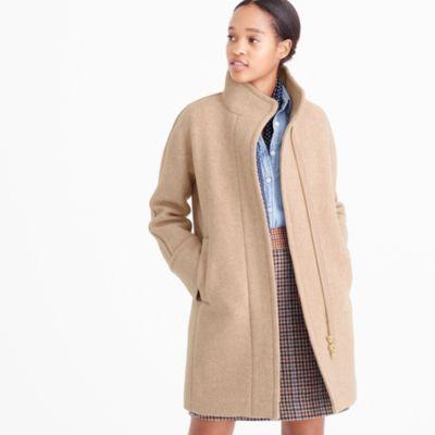 Petite Stadium-Cloth Cocoon Coat : Women's Coats & Jackets | J.Crew