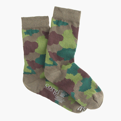 Boys' Corgi™ for crewcuts patterned socks