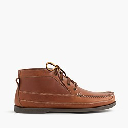 Men's Sperry® for J.Crew leather chukka boots