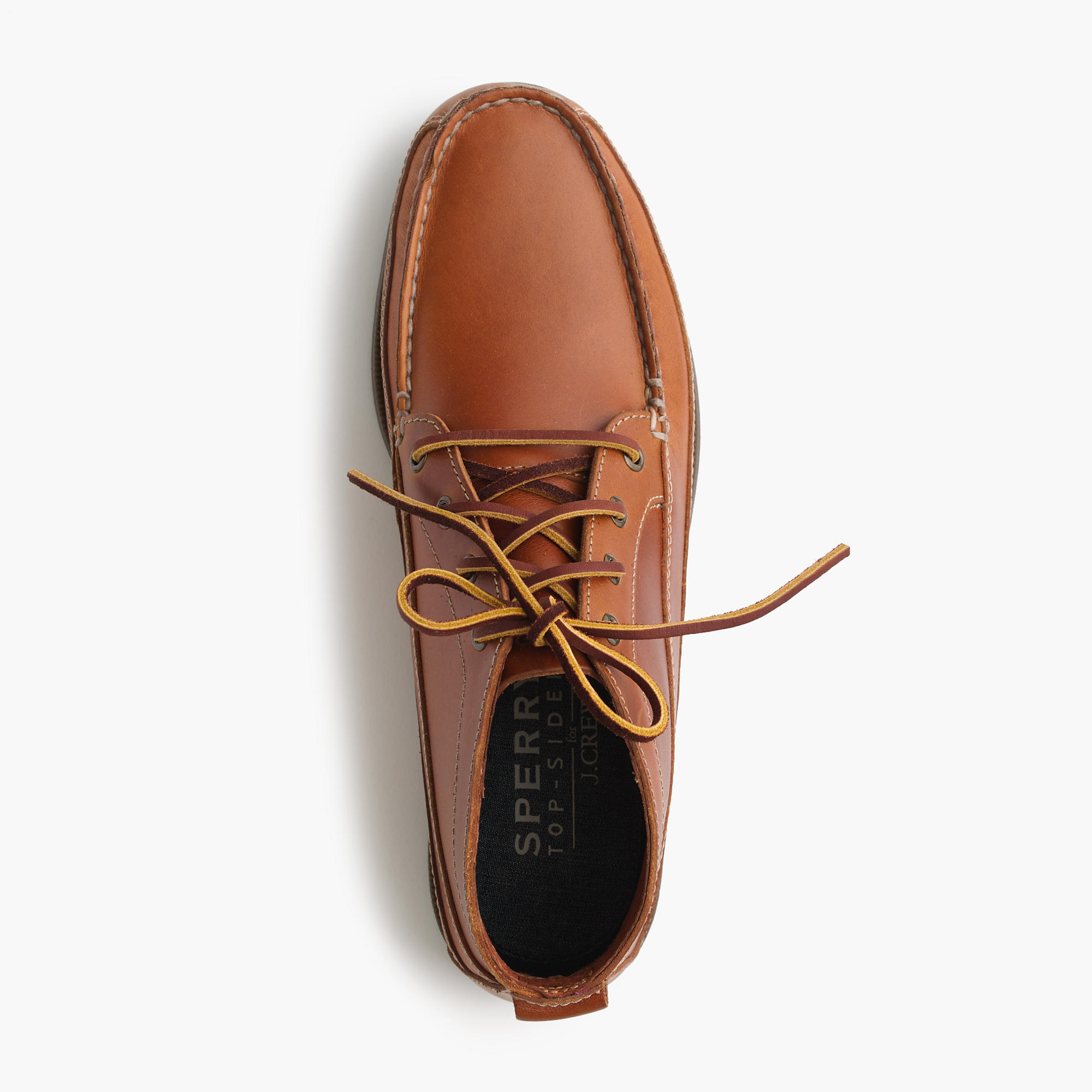 Sperry® for J.Crew leather chukka boots : Men boots | J.Crew