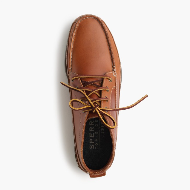 Sperry® for J.Crew leather chukka boots