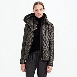 Authier® quilted diamond jacket