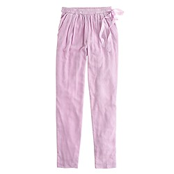 Collection velvet pajama pant