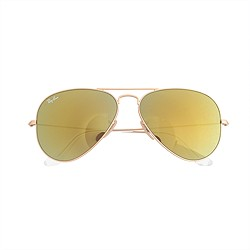 Ray-Ban® aviator sunglasses with mirror lenses