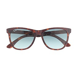Ray-Ban® Havana sunglasses with transparent lenses