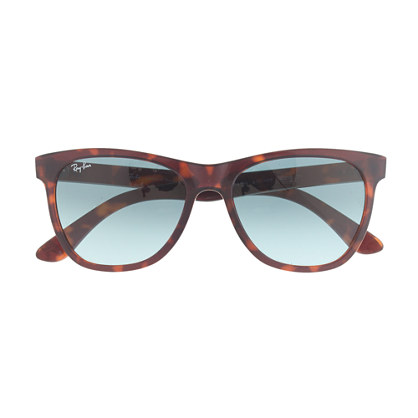 Ray-Ban® Havana sunglasses with transparent lenses