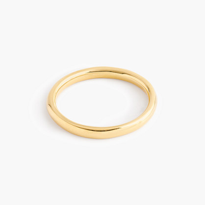 14k gold 2mm rounded band