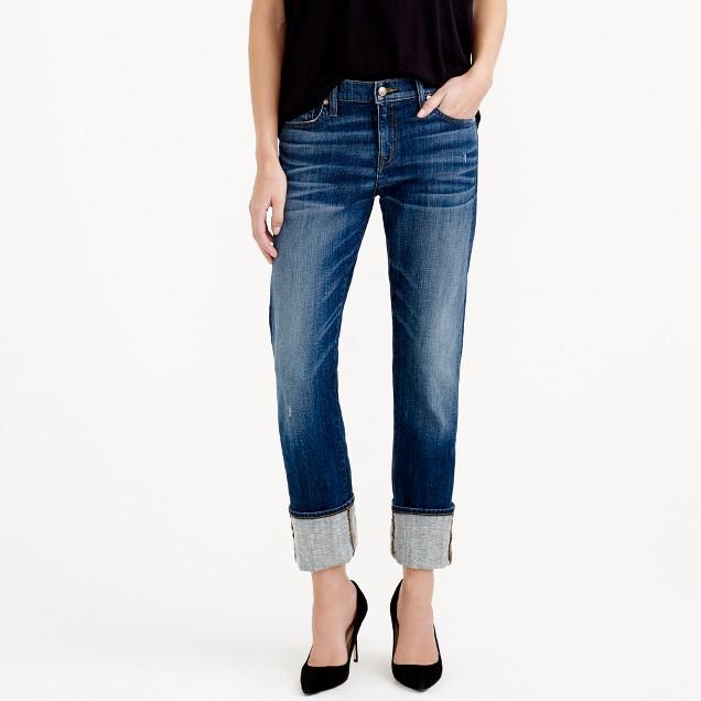 Point Sur X-Rocker Japanese denim jean with cashmere