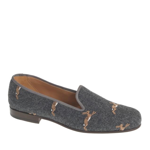 Women's Stubbs & Wootton® classic flannel slippers