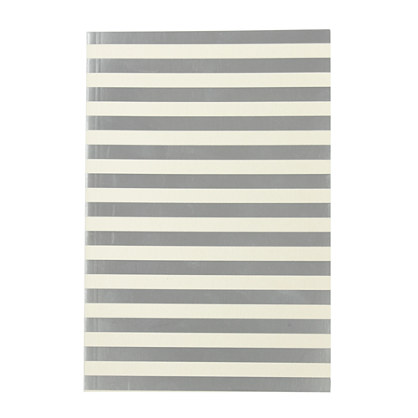 Silver-stripe notebook