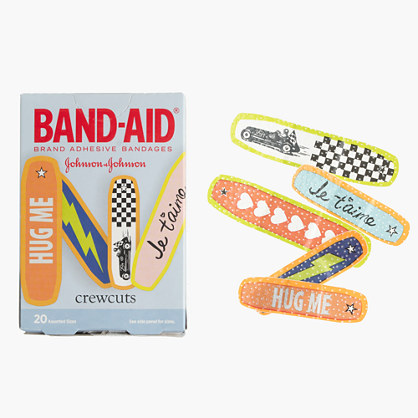 BAND-AID® Brand Adhesive Bandages by crewcuts