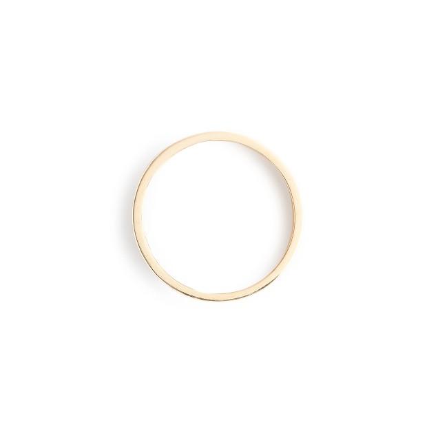 Brvtvs™ thick 14k gold ring