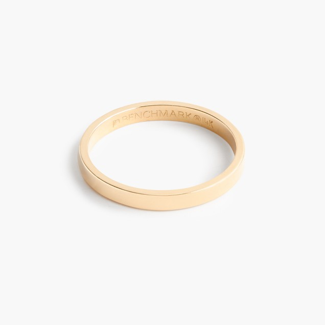 Brvtvs™ thin 14k gold ring