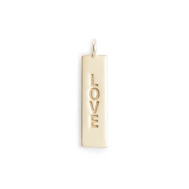 Jennifer Fisher® for J.Crew 10k gold short tag