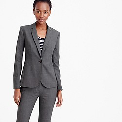 Petite Campbell blazer in Italian stretch wool