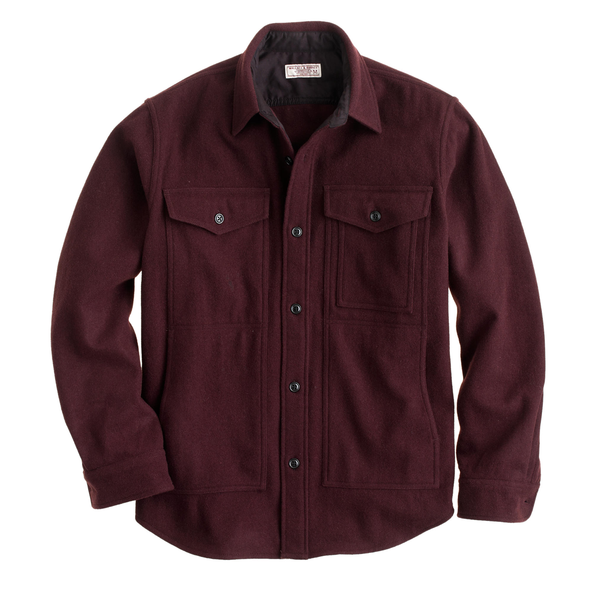 Wallace & Barnes wool overshirt :