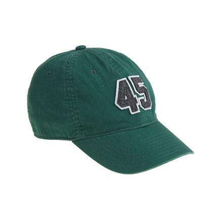Boys' #45 baseball cap