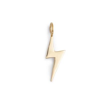Jennifer Fisher® for J.Crew 10k gold bolt charm