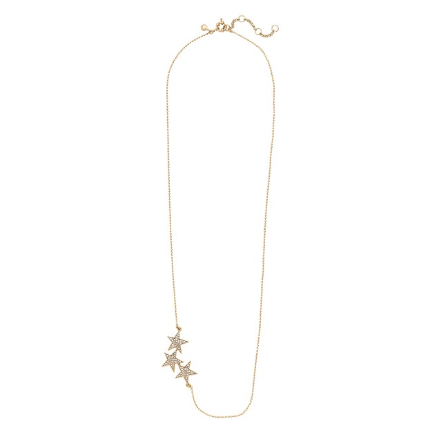 Three stars necklace