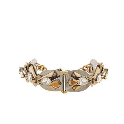 Metal origami bracelet