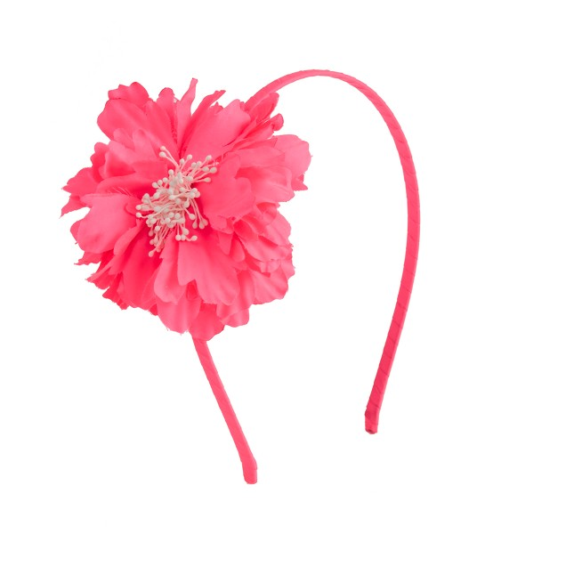 Girls' flower headband