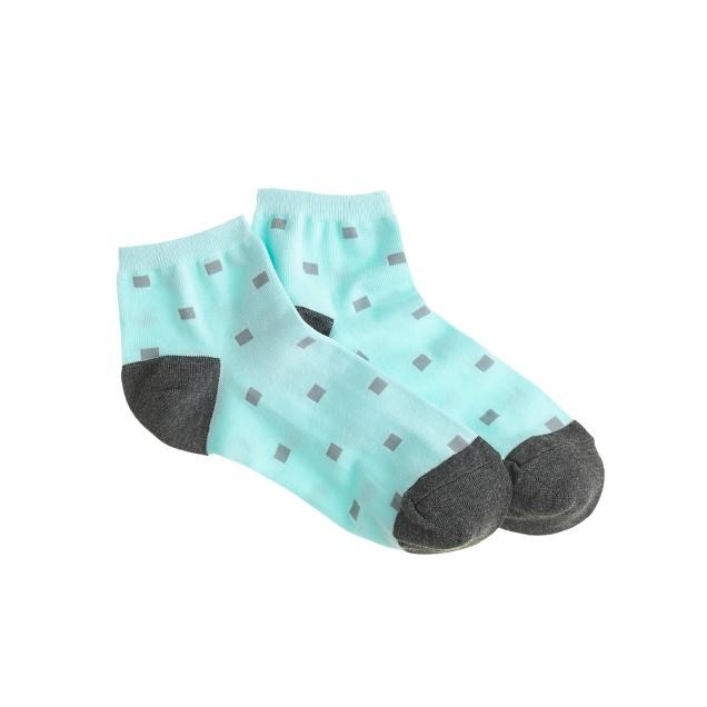 Cubic ankle socks